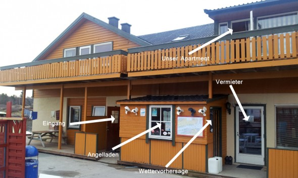 Norwegen (Hitra) Unterkunft