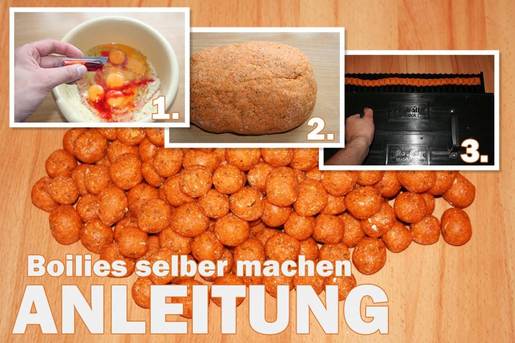 Boilies selber machen - Die Anleitung