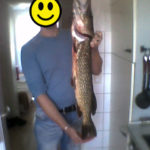 Röhrser Teich – 80cm Hecht mit Blinker gefangen