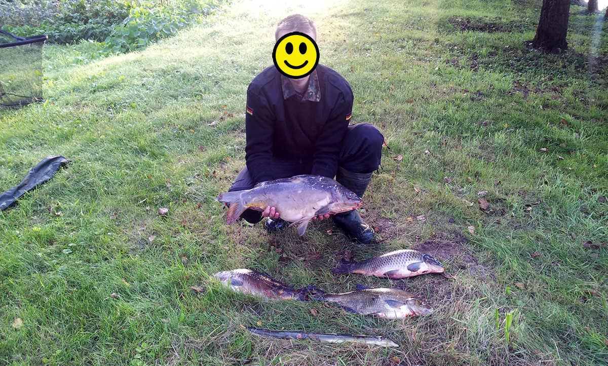 Mit Curry und Erdbeeraroma auf Karpfen angeln