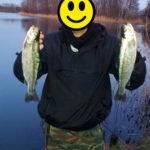 Forellenangeln am Steinwedeler Teich mit der Oberflächenmontage