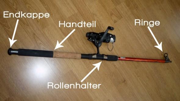 Aufbau einer Angelrute