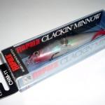 Gewinnspiel: Rapala Clackin Minnow (Silber, 11 cm) geht an…