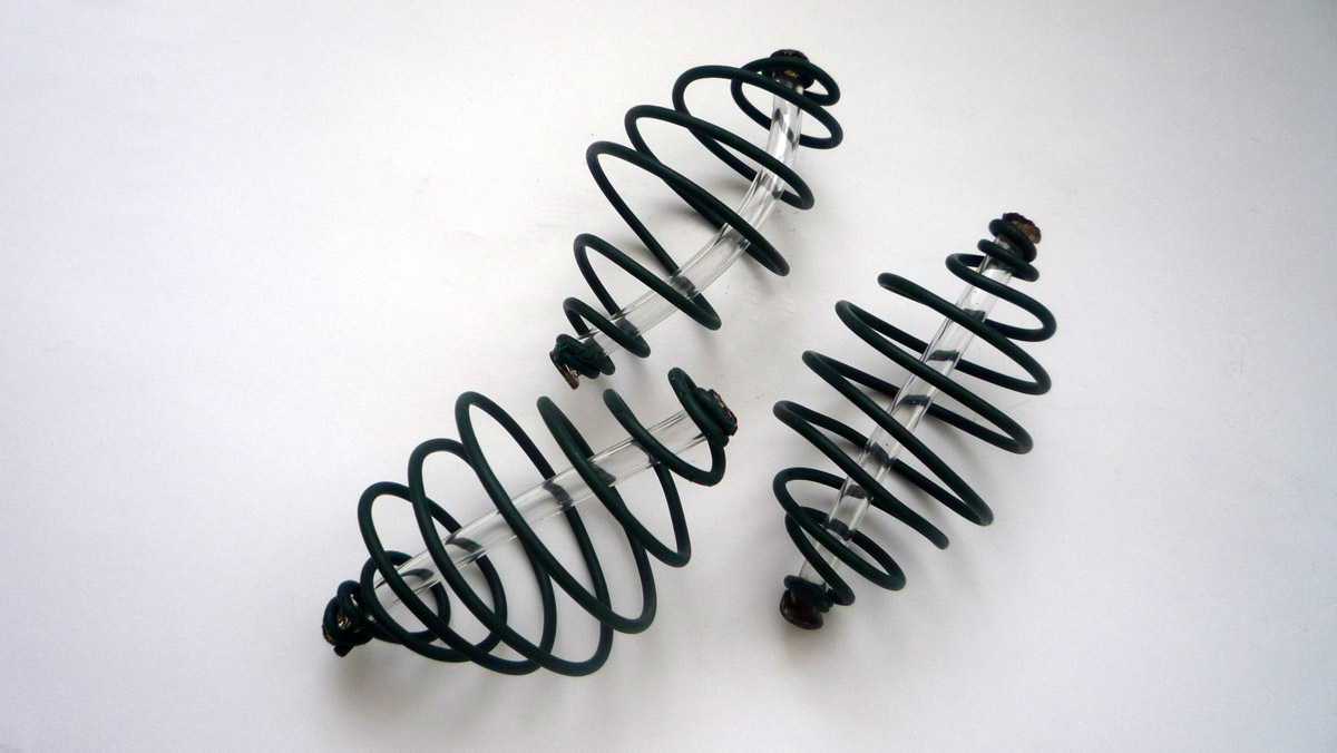 Feederkorb Futterspirale mit Blei Spirale SPRING Feeder Futterkorbe 5 Stk